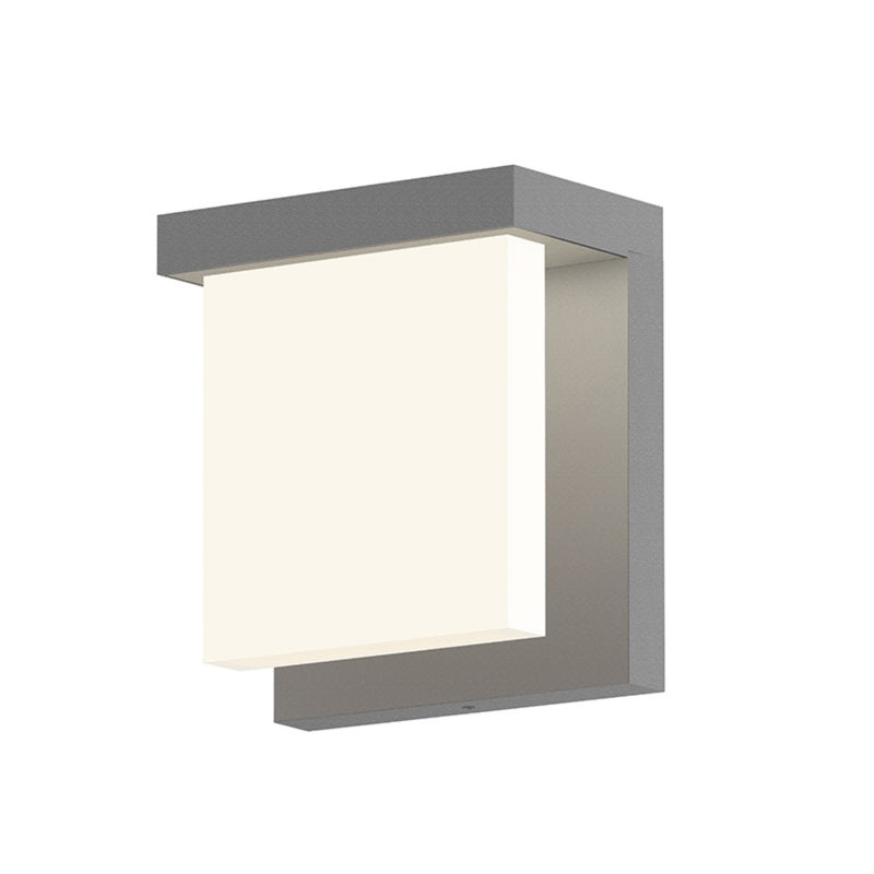 Sonneman 7275.74-WL Glass Glow LED Sconce in Textured Gray