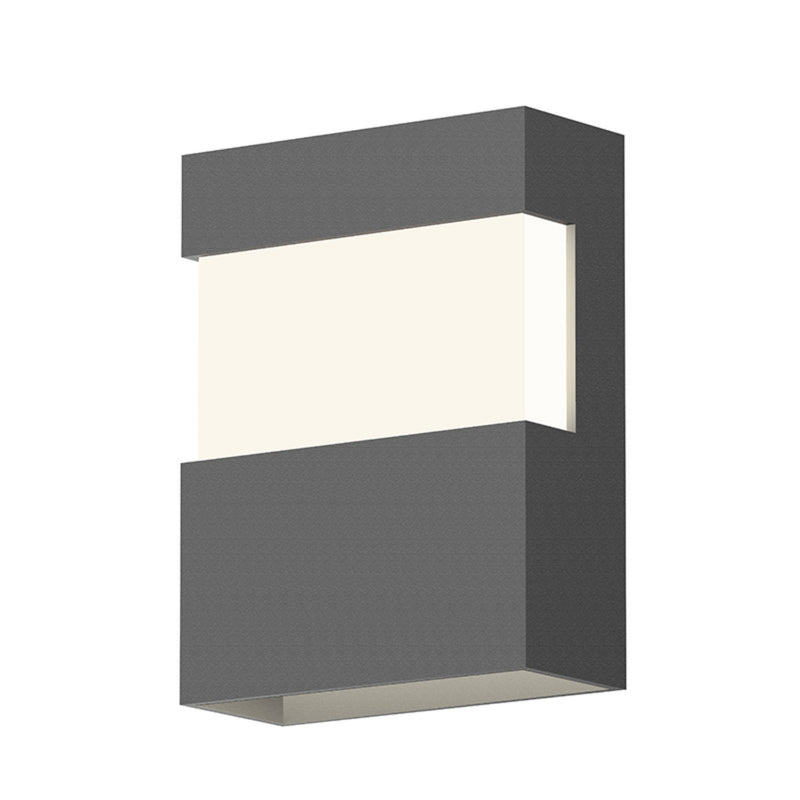 "Sonneman 7280.74-WL Band 8"" LED Sconce in Textured Gray"