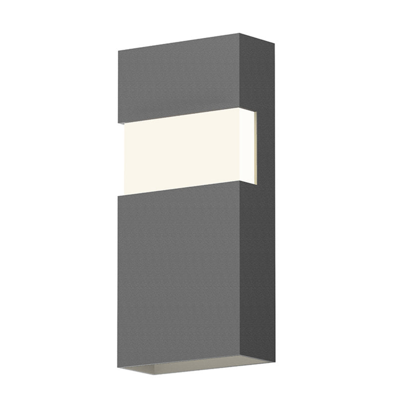 "Sonneman 7282.74-WL Band 13"" LED Sconce in Textured Gray"