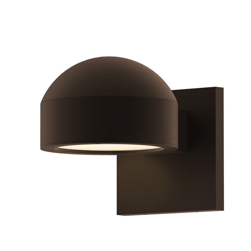 Sonneman 7300.DC.PL.72-WL REALS Downlight LED Sconce in Textured Bronze