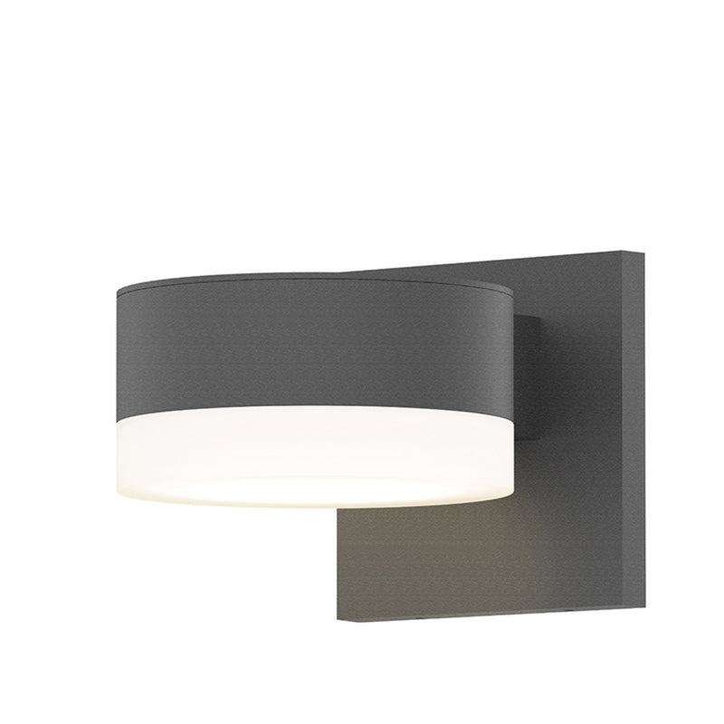 Sonneman 7300.PC.FW.74-WL REALS Downlight LED Sconce in Textured Gray
