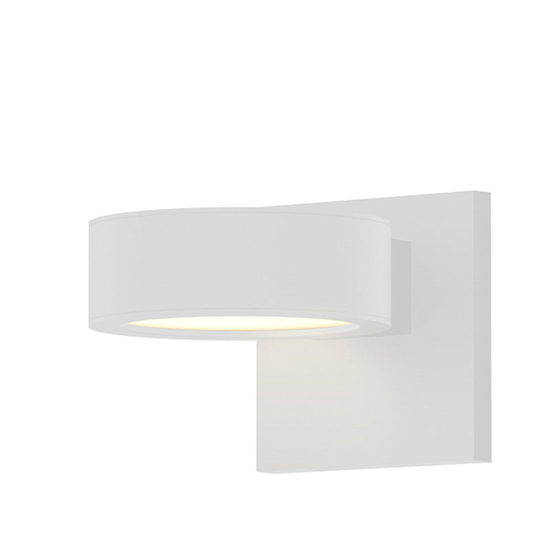 Sonneman 7300.PC.PL.98-WL REALS Downlight LED Sconce in Textured White