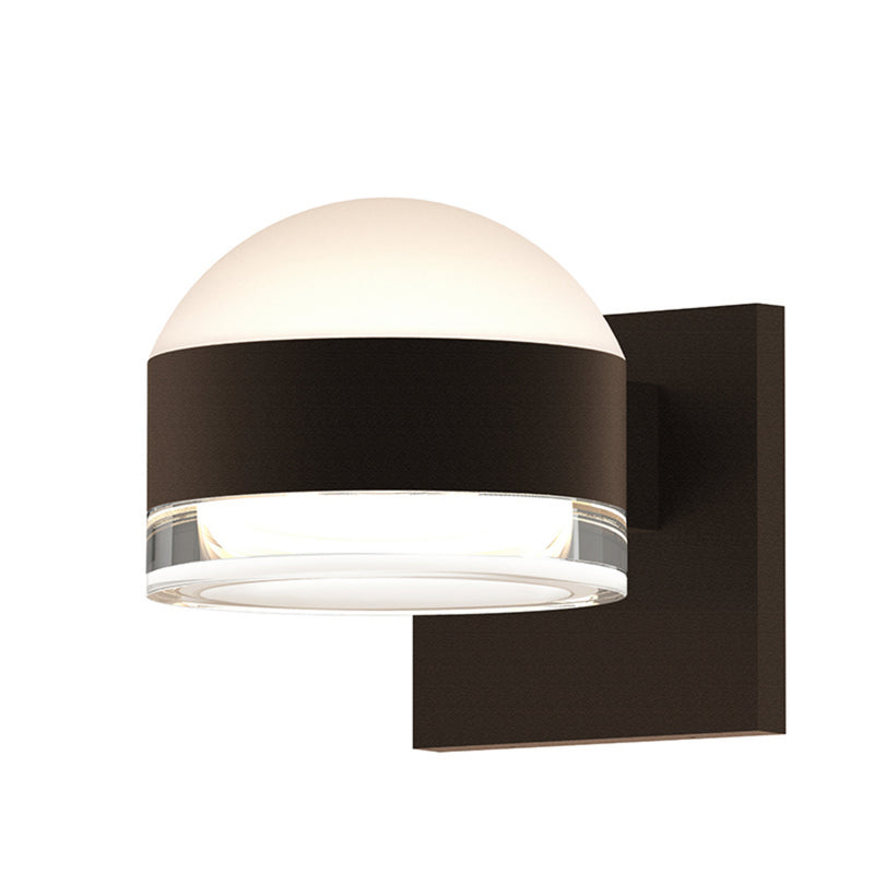 Sonneman 7302.DL.FH.72-WL REALS Up/Down LED Sconce in Textured Bronze