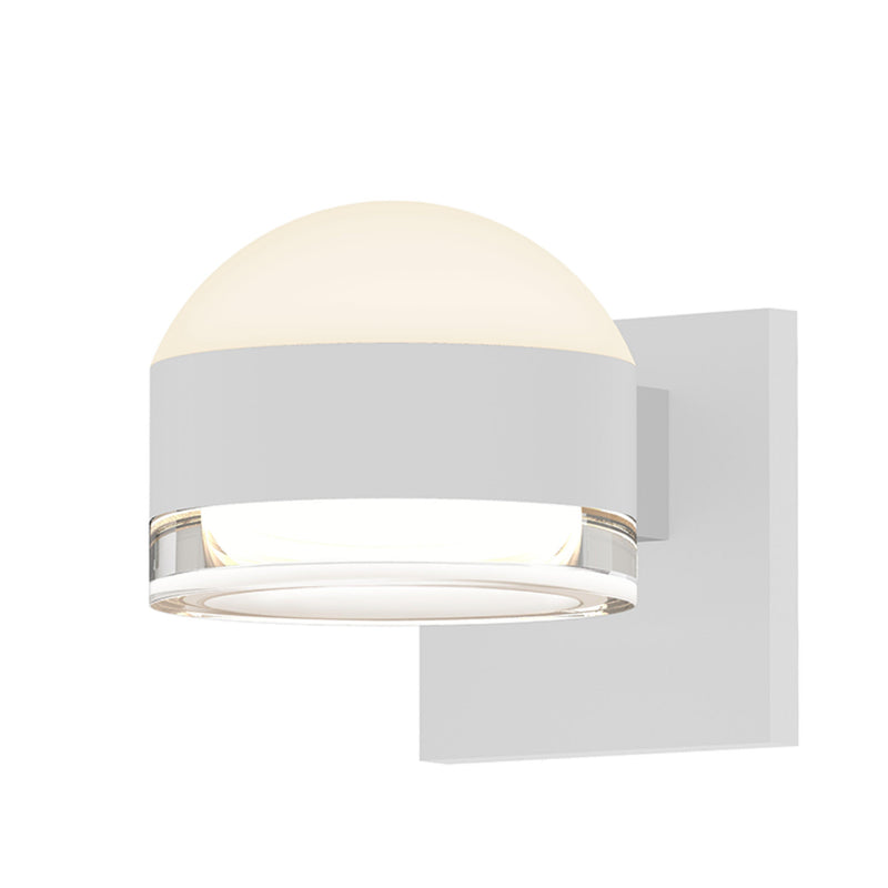 Sonneman 7302.DL.FH.98-WL REALS Up/Down LED Sconce in Textured White