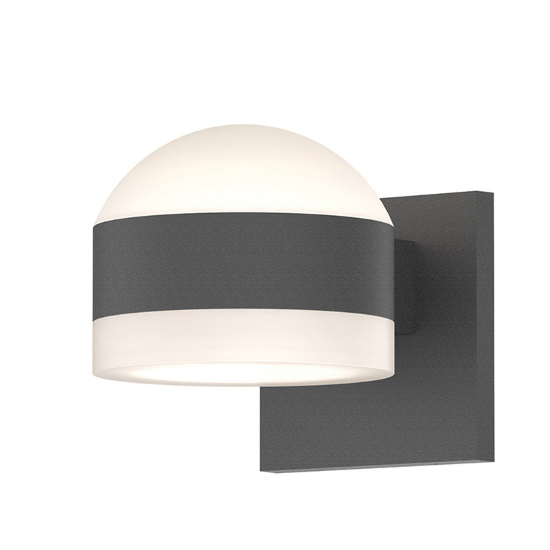 Sonneman 7302.DL.FW.74-WL REALS Up/Down LED Sconce in Textured Gray