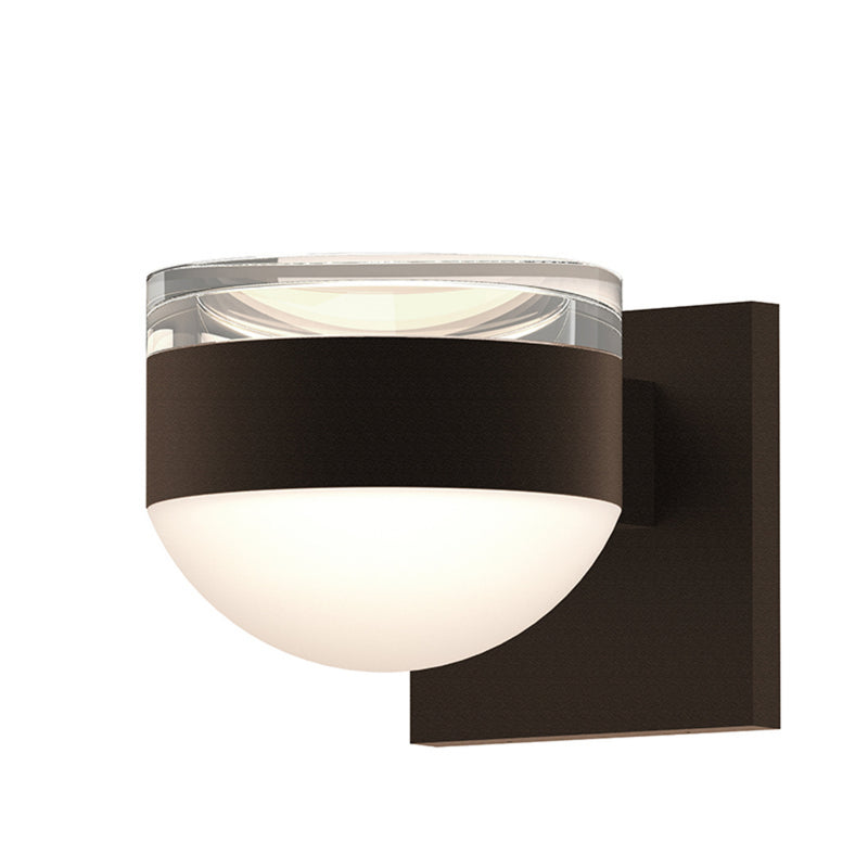 Sonneman 7302.FH.DL.72-WL REALS Up/Down LED Sconce in Textured Bronze