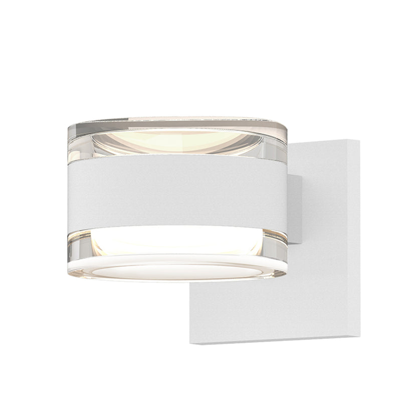 Sonneman 7302.FH.FH.98-WL REALS Up/Down LED Sconce in Textured White