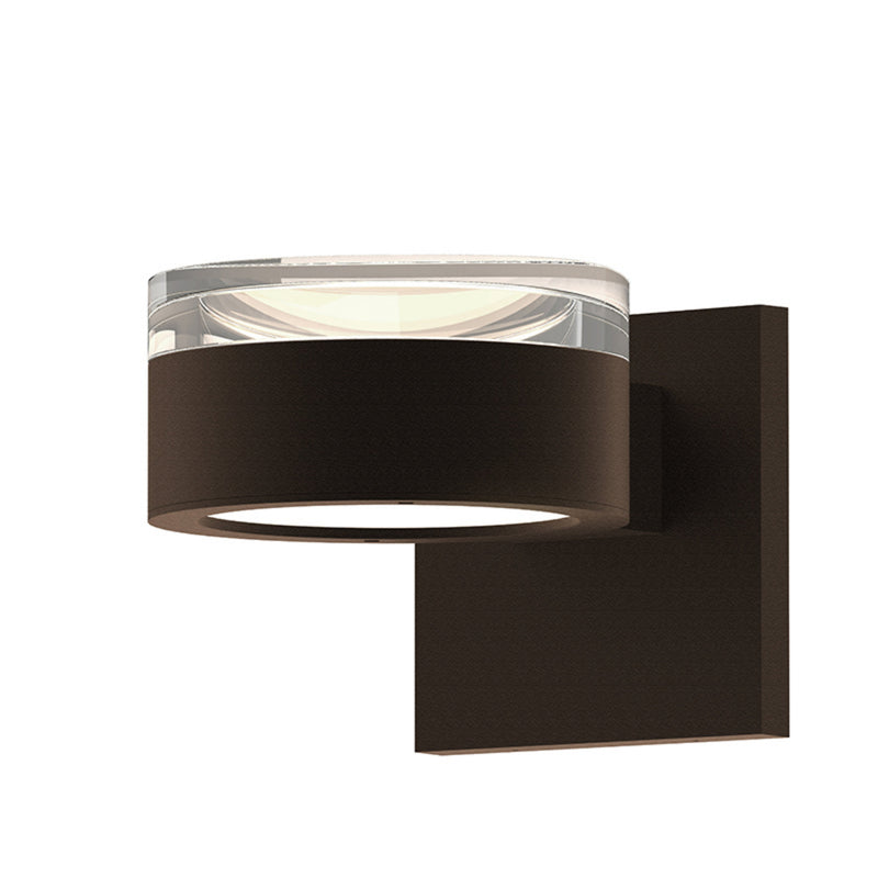 Sonneman 7302.FH.PL.72-WL REALS Up/Down LED Sconce in Textured Bronze