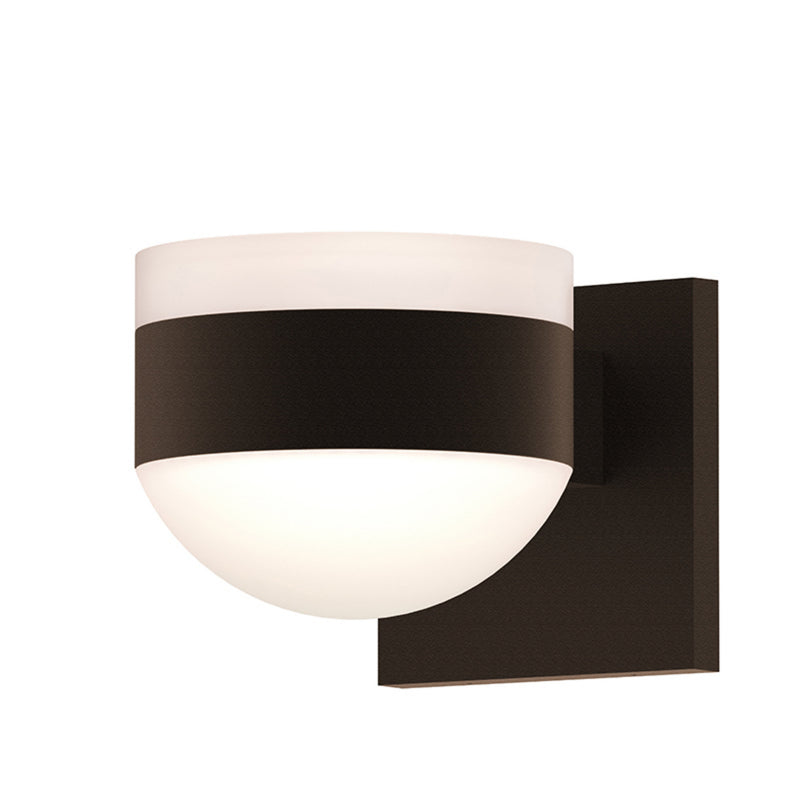 Sonneman 7302.FW.DL.72-WL REALS Up/Down LED Sconce in Textured Bronze