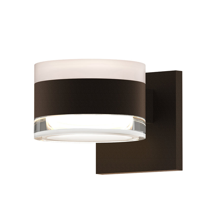 Sonneman 7302.FW.FH.72-WL REALS Up/Down LED Sconce in Textured Bronze