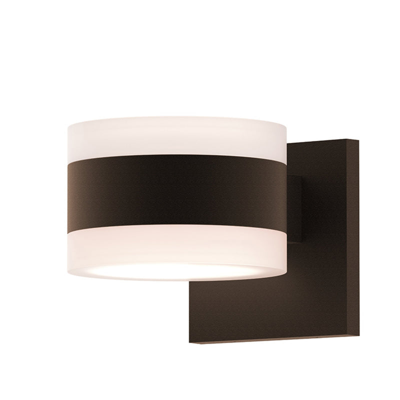 Sonneman 7302.FW.FW.72-WL REALS Up/Down LED Sconce in Textured Bronze