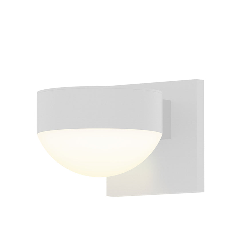 Sonneman 7302.PL.DL.98-WL REALS Up/Down LED Sconce in Textured White