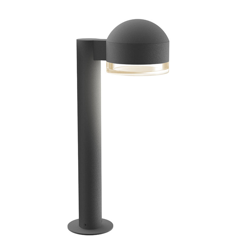 "Sonneman 7303.DC.FH.74-WL REALS 16"" LED Bollard in Textured Gray"