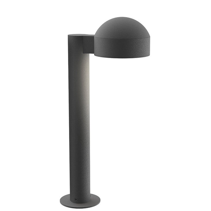 "Sonneman 7303.DC.PL.74-WL REALS 16"" LED Bollard in Textured Gray"