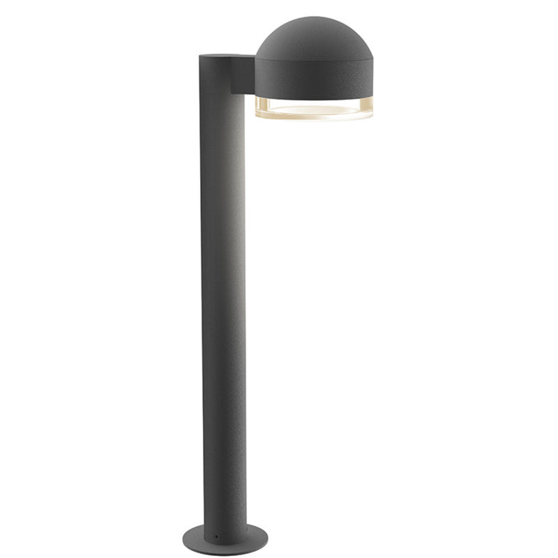 "Sonneman 7304.DC.FH.74-WL REALS 22"" LED Bollard in Textured Gray"