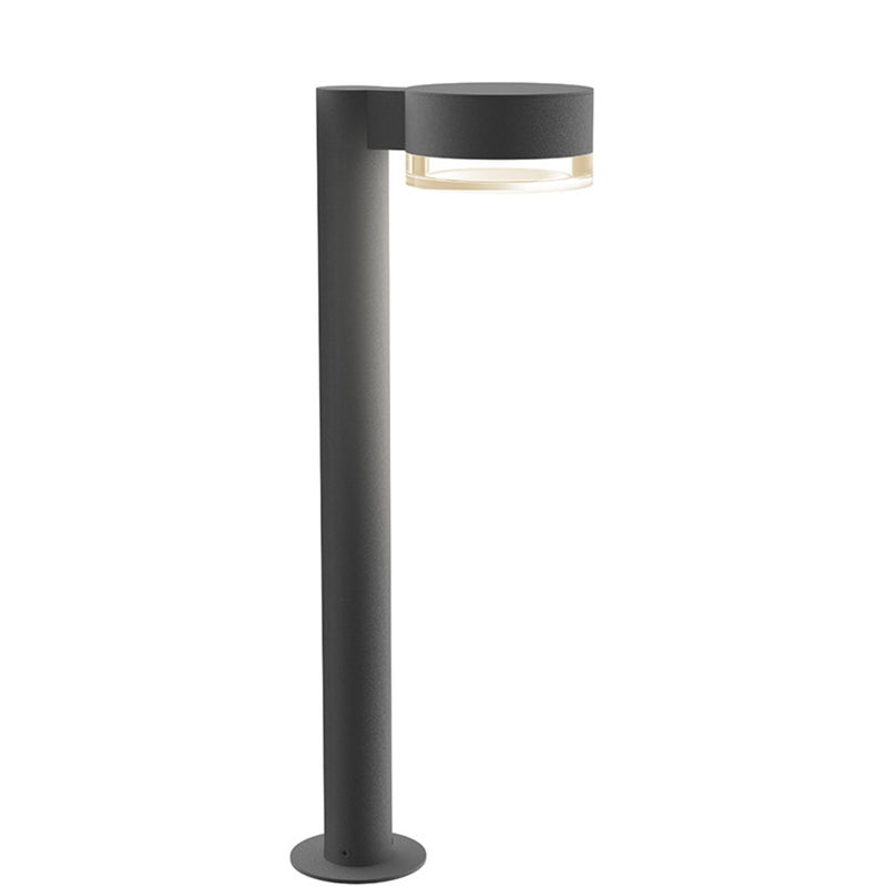 "Sonneman 7304.PC.FH.74-WL REALS 22"" LED Bollard in Textured Gray"