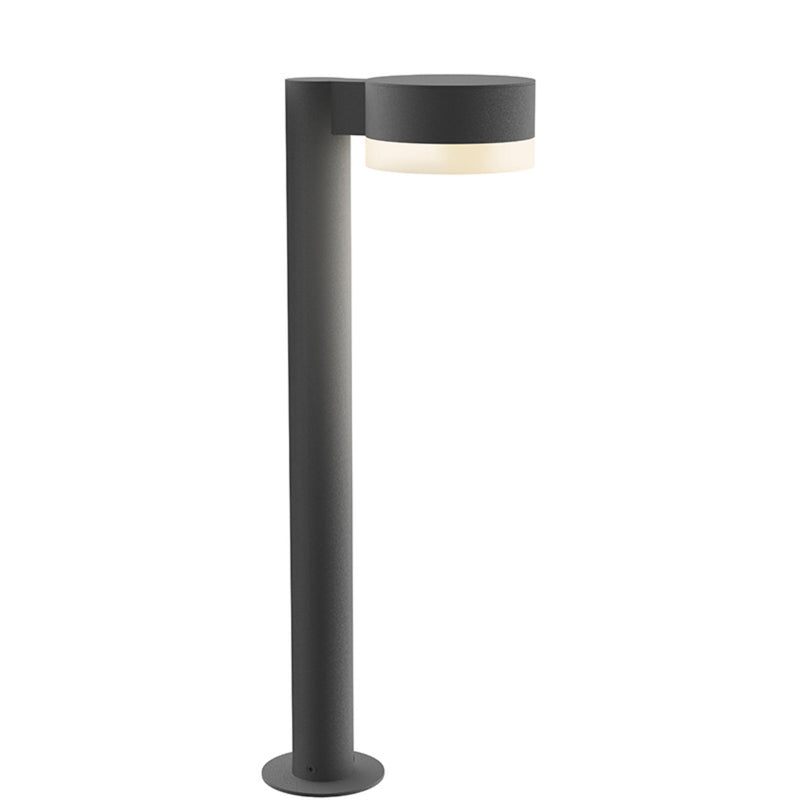 "Sonneman 7304.PC.FW.74-WL REALS 22"" LED Bollard in Textured Gray"