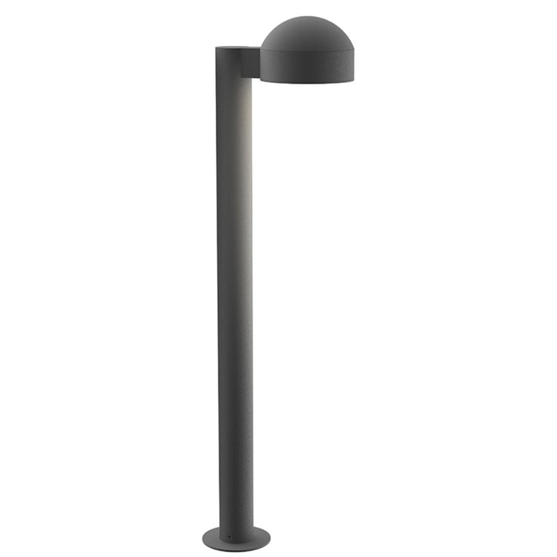 "Sonneman 7305.DC.PL.74-WL REALS 28"" LED Bollard in Textured Gray"