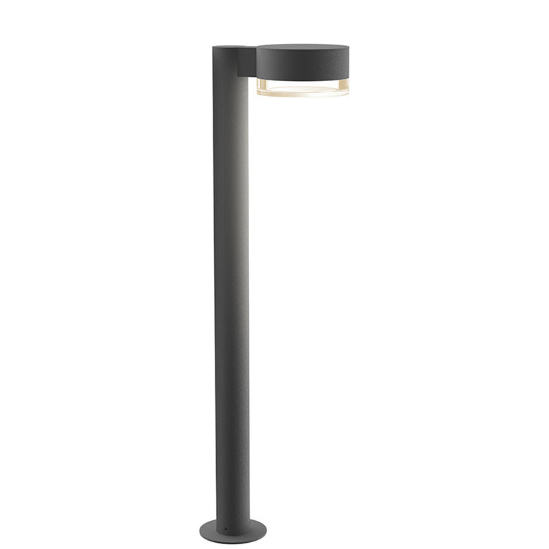 "Sonneman 7305.PC.FH.74-WL REALS 28"" LED Bollard in Textured Gray"