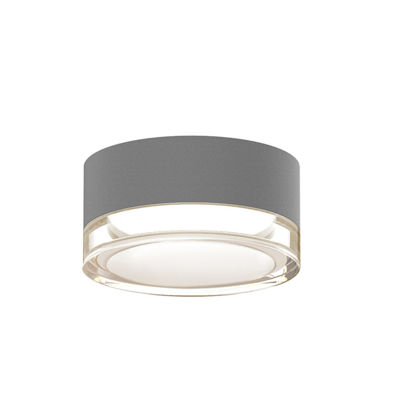 Sonneman 7309.XX.FH.74-WL REALS LED Surface Mount in Textured Gray
