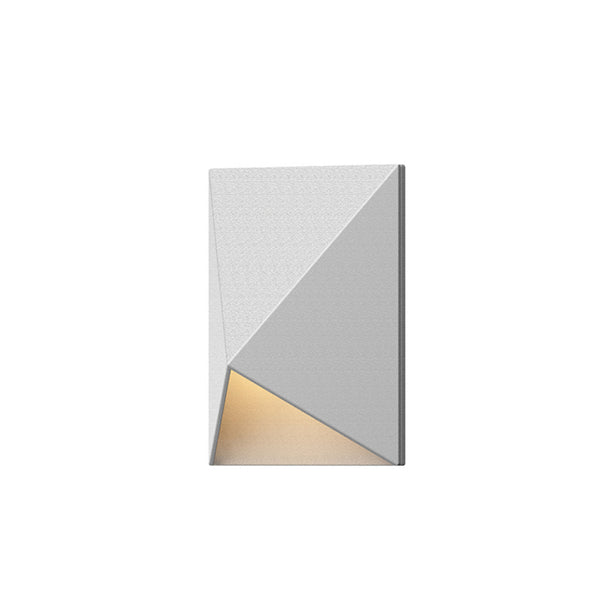 Sonneman 7320.98-WL Triform Compact LED Sconce in Textured White