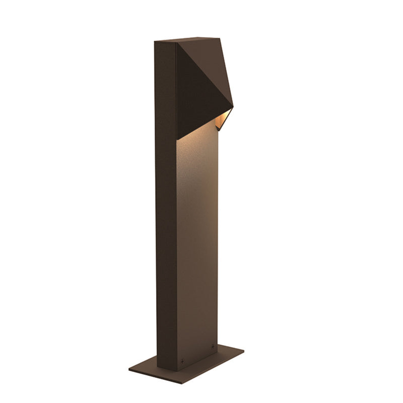 "Sonneman 7321.72-WL Triform Compact 16"" LED Bollard in Textured Bronze"