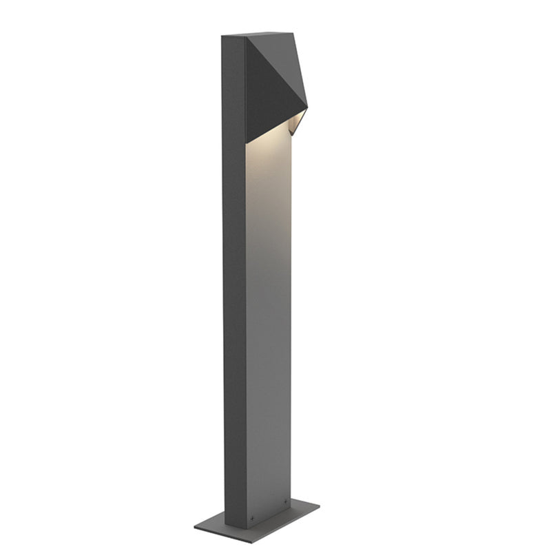 "Sonneman 7322.74-WL Triform Compact 22"" LED Bollard in Textured Gray"