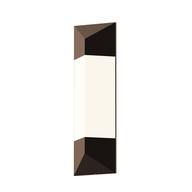 "Sonneman 7332.72-WL Triform 18"" LED Sconce in Textured Bronze"