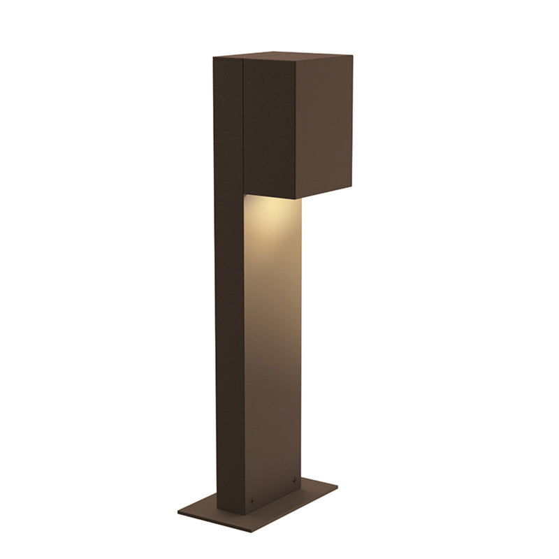 "Sonneman 7341.72-WL Box 16"" LED Bollard in Textured Bronze"
