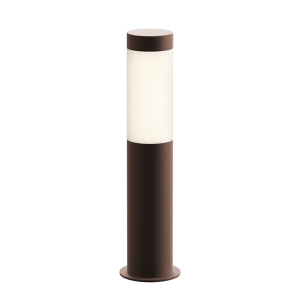 "Sonneman 7371.72-WL Round Column 16"" LED Bollard in Textured Bronze"