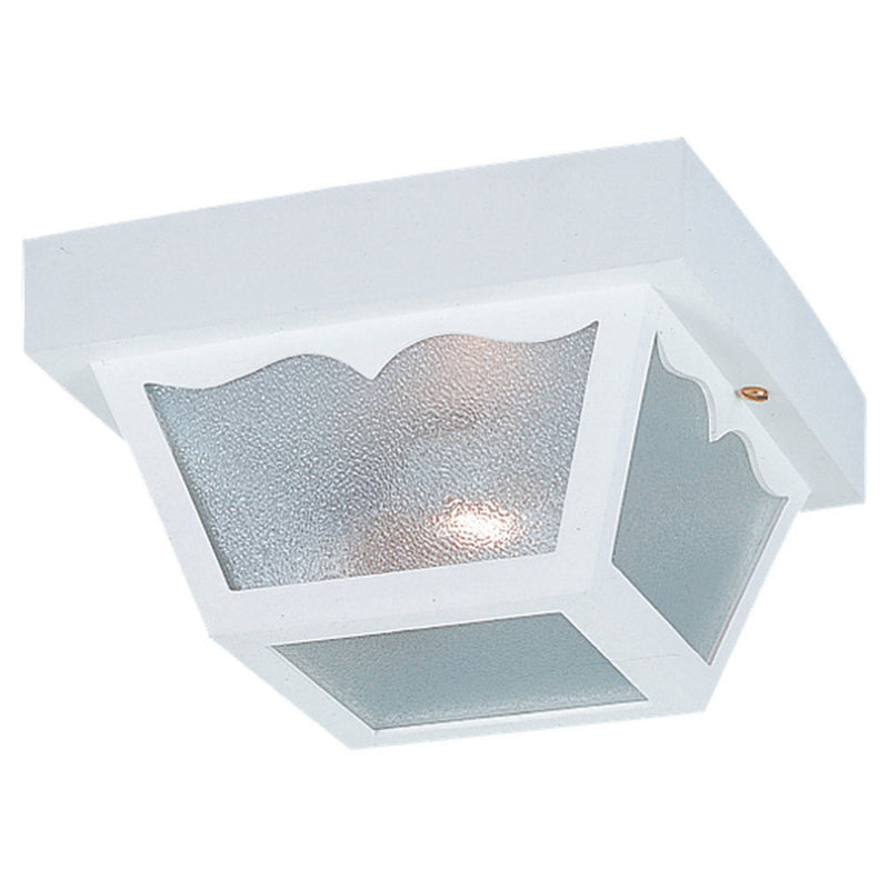 Generation Lighting 7569-15 Sea Gull Outdoor Ceiling 2 Light Outdoor Light in White