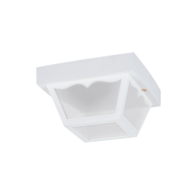 Generation Lighting 7569EN3-15 Sea Gull Outdoor Ceiling 2 Light Outdoor Light in White