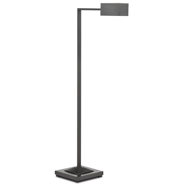 Currey and Company 8000-0084 Ruxley Bronze Floor Lamp in Oil Rubbed Bronze