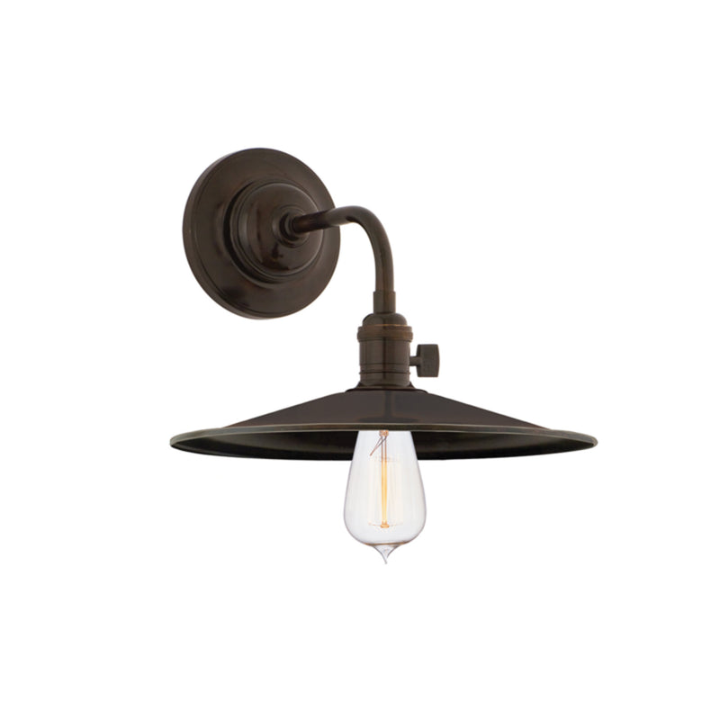 Hudson Valley Lighting 8000-OB-MS1 Heirloom 1 Light Wall Sconce in Old Bronze