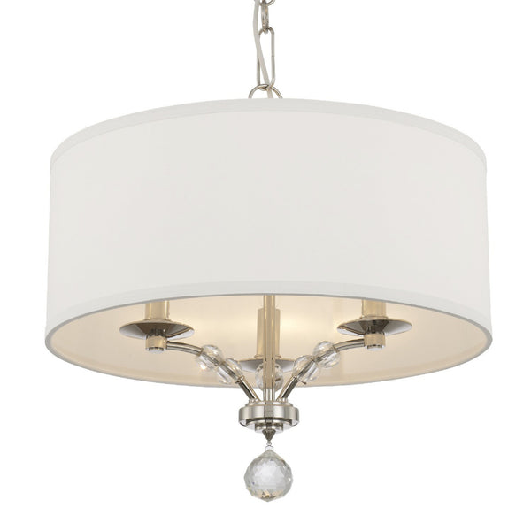 Crystorama 8005-PN Mirage Chandelier in Polished Nickel