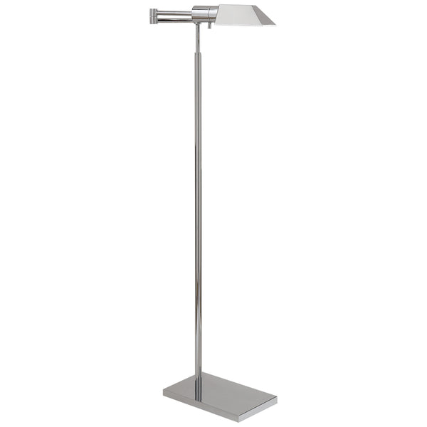 Visual Comfort 81134 PN Studio VC Studio Swing Arm Floor Lamp in Polished Nickel