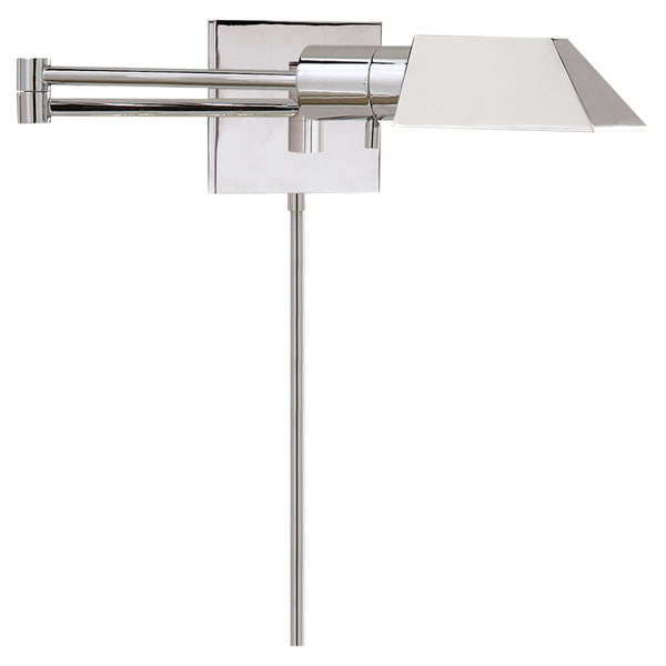 Visual Comfort 82034 PN Studio VC Studio Swing Arm Wall Light in Polished Nickel