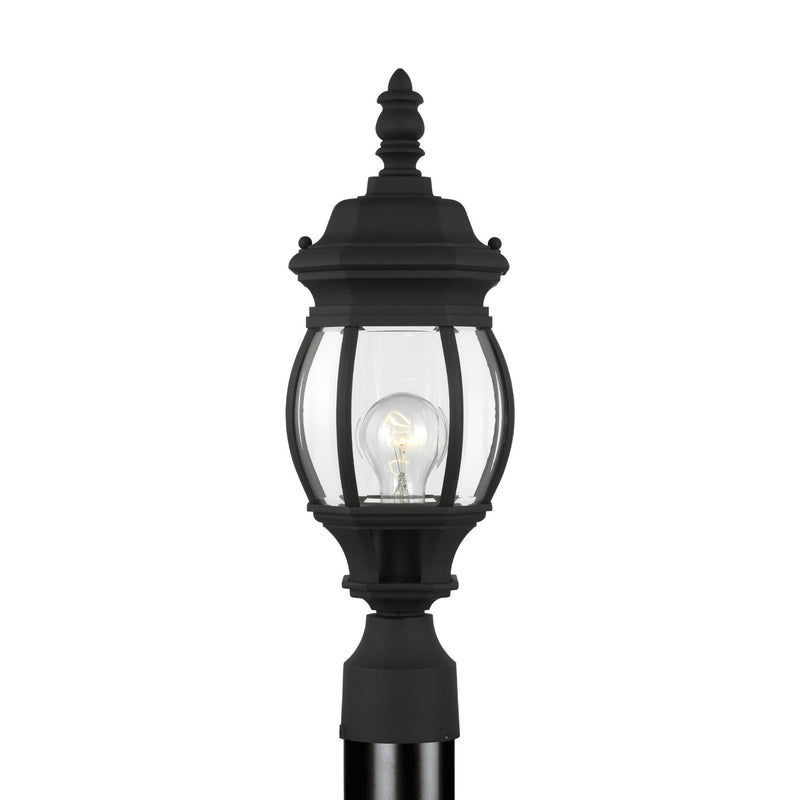 Generation Lighting 82202-12 Sea Gull Wynfield 1 Light Outdoor Light in Black