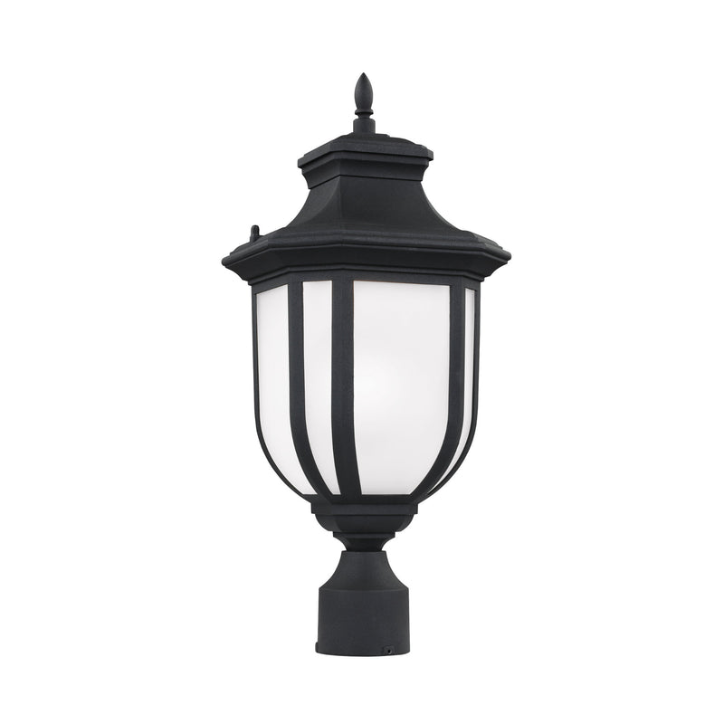 Generation Lighting 8236301-12 Sea Gull Childress 1 Light Outdoor Light in Black