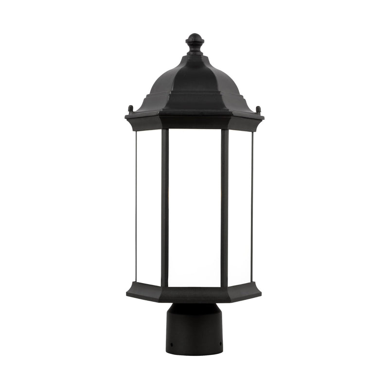 Generation Lighting 8238651-12 Sea Gull Sevier 1 Light Outdoor Light in Black
