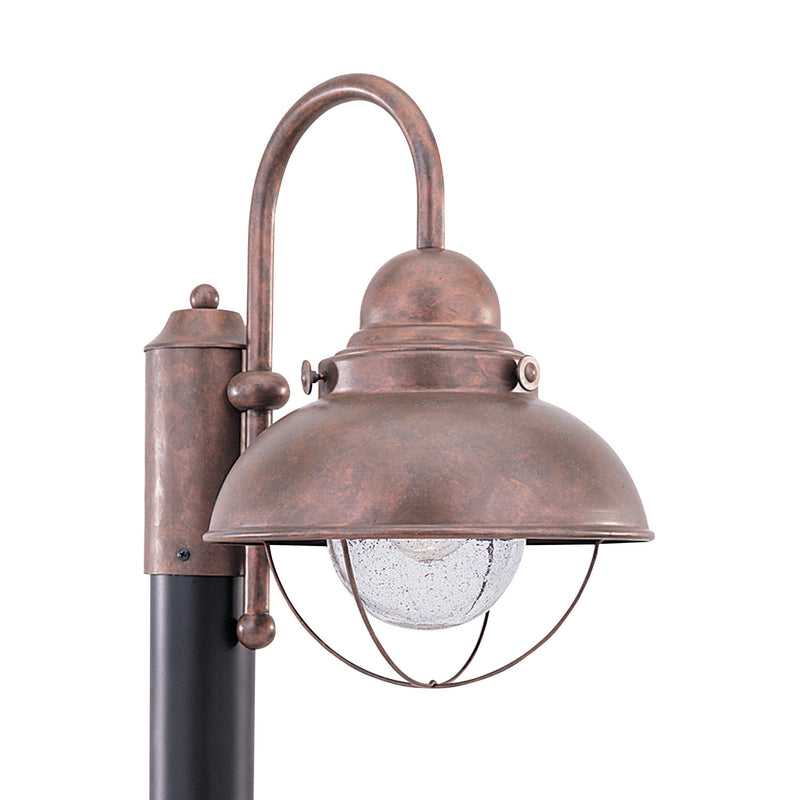 Generation Lighting 8269-44 Sea Gull Sebring 1 Light Outdoor Light in Weathered Copper