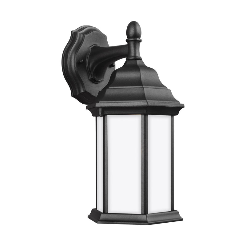 Generation Lighting 8338751-12 Sea Gull Sevier 1 Light Outdoor Light in Black