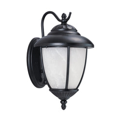 Generation Lighting 84049PEN3-12 Sea Gull Yorktown 1 Light Outdoor Light in Black