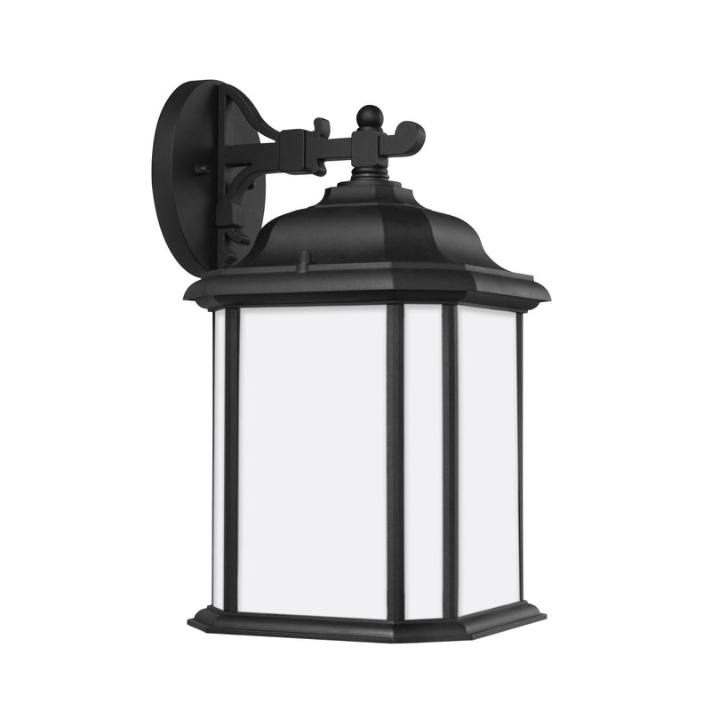 Generation Lighting 84531EN3-12 Sea Gull Kent 1 Light Outdoor Light in Black