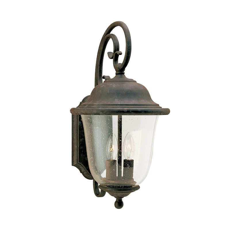 Generation Lighting 8460-46 Sea Gull Trafalgar 2 Light Outdoor Light in Oxidized Bronze