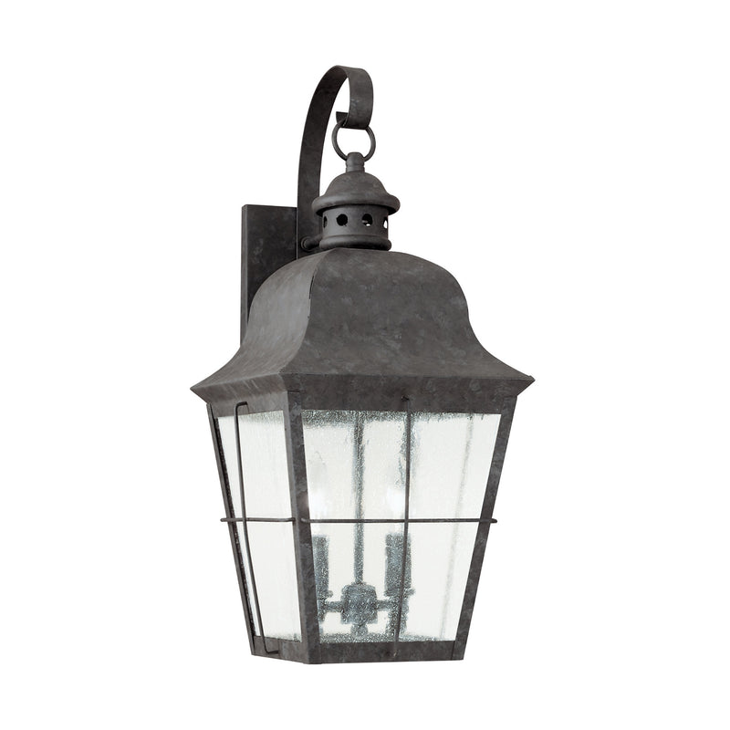 Generation Lighting 8463-46 Sea Gull Chatham 2 Light Outdoor Light in Oxidized Bronze