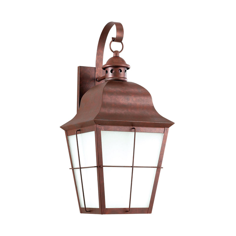 Generation Lighting 8463DEN3-44 Sea Gull Chatham 1 Light Outdoor Light in Weathered Copper