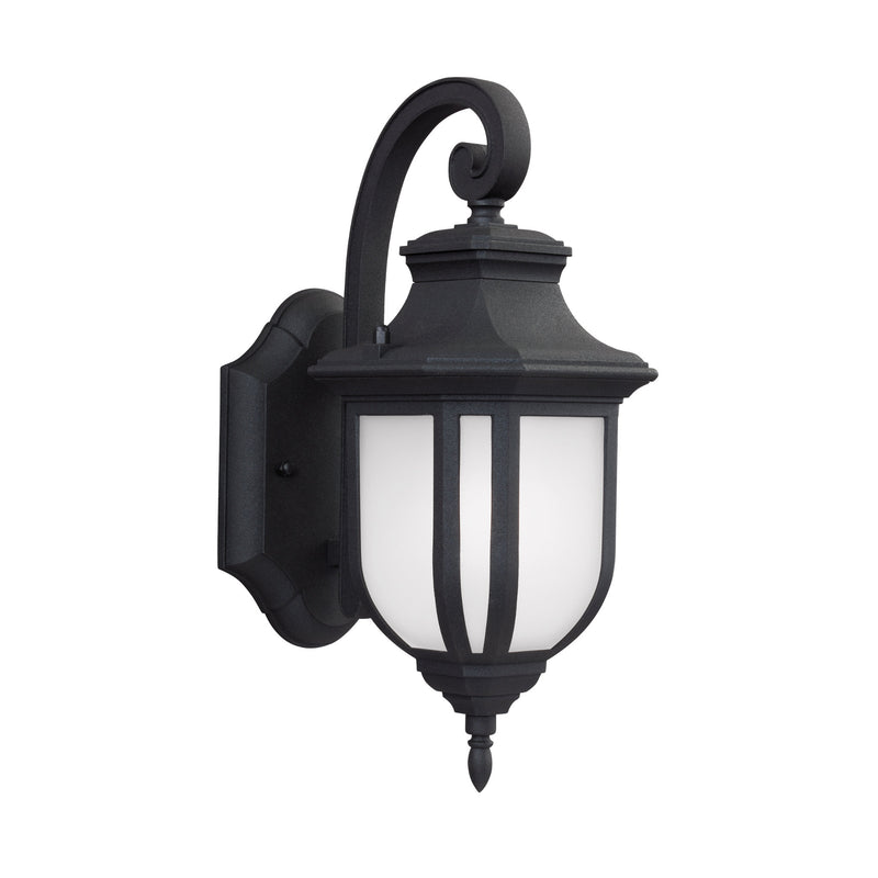 Generation Lighting 8536301-12 Sea Gull Childress 1 Light Outdoor Light in Black