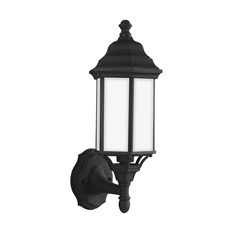 Generation Lighting 8538751-12 Sea Gull Sevier 1 Light Outdoor Light in Black