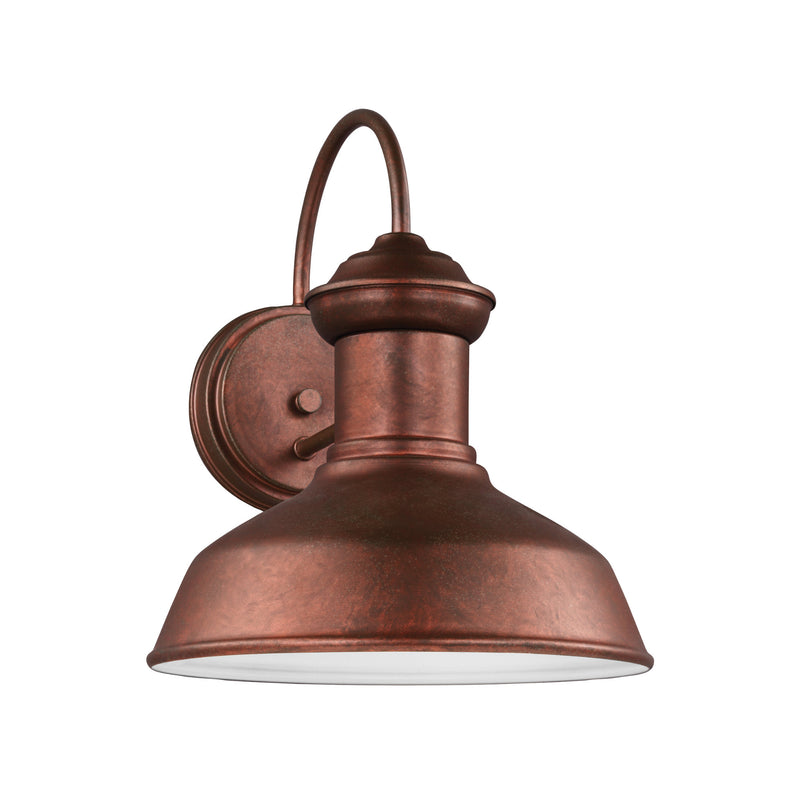 Generation Lighting 8547701-44 Sea Gull Fredricksburg 1 Light Outdoor Light in Weathered Copper